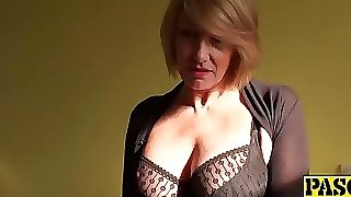 Gorgeous mature lady Amy entices with her super hot body