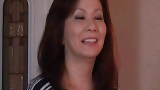 Fantastic and horny Japanese mature mom