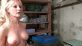 Big jugged french mature gets her ass boned