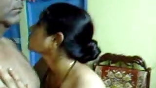Sexy Homemade Indian Mature Hairy Couple Have Incredible Sex