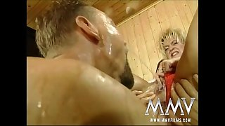 MMV Films Raunchy German mature torn up hard
