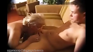 Mature fellatio