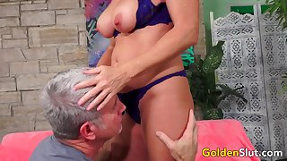Sumptuous Mature Ginger-haired Andi James Gets Passionately Plowed