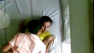 Indian Kerala aunty and spouses junior brother hidden camera