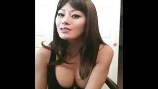 small asian penis humiliation by asian girl who only fucks big white cock