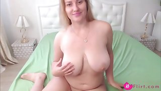gorgeous russian babe with beautiful eyes and big tits